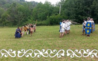 flamulasca 2014 la roccarina viaggio nel tempo celti okelum romani