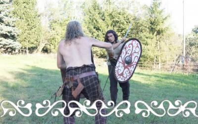 okelum festa rievocazione storica fighting combattimento guerrieri