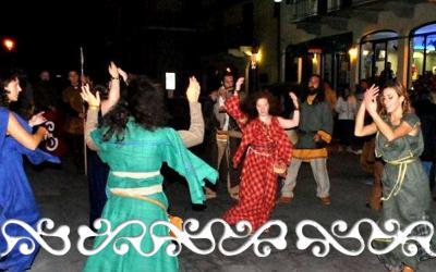 samonios halloween celti okelum flamulasca roccarina rievocazione viaggio tempo danze dervonnae dervonne storiche