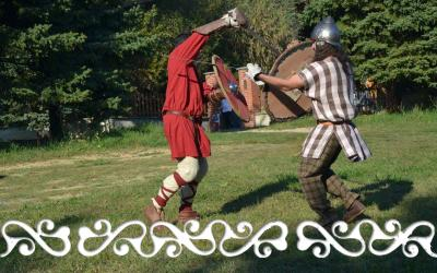 okelum festa rievocazione storica fighting combattimento guerrieri warrior