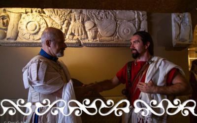 galloromanizzazione galloromanitas romani ancient rome museo antichità di torino celti okelum