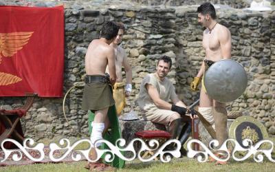 gladiatori gladiators reenactment rievocazione storica villa romana almese ancient rome galloromanitas gallo romanizzazione celti romani celts
