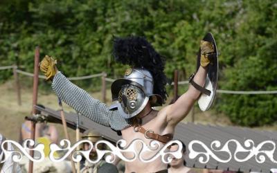 gladiatore gladiator reenactment rievocazione storica villa romana almese ancient rome galloromanitas gallo romanizzazione celti romani celts