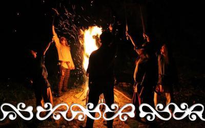 maghios magus casa grotte ara celti fuoco acqua okelum