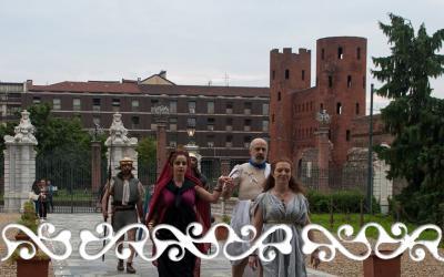 Okelum Cleopatra Cesare Museo Antichità Torino Musei Reali rievocazione reenactment
