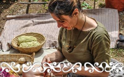flamulasca la roccarina chiusa pesio archeopark rievocazione reenacment bronze age età bronzo egtved borum eshoi textile