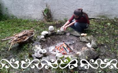 Okelum Archeologia sperimentale experimental archaeology reenacment rievocazione storica età bronzo bronze age ceramica pottery cielo aperto