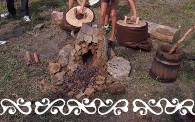 massello torino parco archeologico archeopark reenactment rievocazione archeologia sperimentale experimental archaeology iron riduzione del ferro