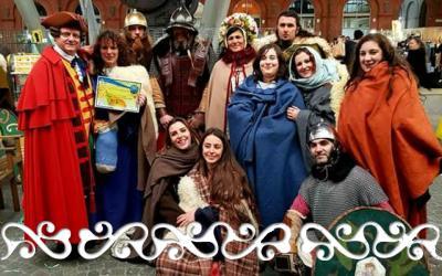 carnevale carlevè balon gruppi storici rievocazione storica gianduja giacometta okelum romani ausiliari auxilia guerrieri celti danzatrici romane celte celtic roman 2018