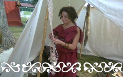 golasecca 2011 okelum celti celts reenactment tintura