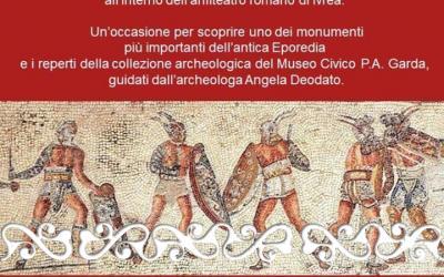 okelum eporedia ivrea 17 marzo 2019 gladiatori anfiteatro arena