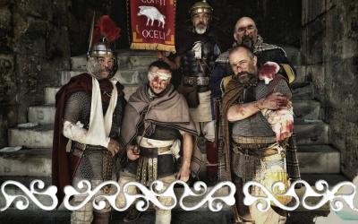 #Nimes #GJR2019 #okelum #arenedenimes #gjr #rievocazione #reenactors #warrior #lesroisbarbares