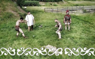 gladiatori okelum anfiteatro eporedia ivrea galloromanizzazione galloromanitas