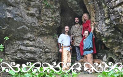 okelum celti casa grotte ara beltane beltaine celts reenactment rievocazione storica