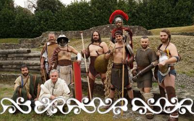 gladiatori okelum galloromanitas ivrea eporedia anfiteatro museo garda ivrea