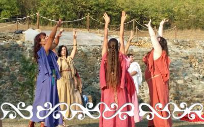 danze celtiche danze romani danzatrice celtica okelum almese