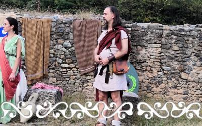 #okelum #dervonne #dervonnae #progettogalloromanitas #galloromanitas #villaromanadialmese #valledisusa #rievocazionestorica