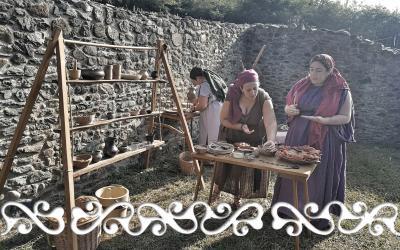 okelum galloromanitas galloromanizzazione romani gladiatori cibo matrona dominus villa romana di almese