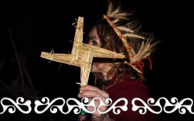imbolc candelora okelum celti celts reenactment idromele danze guerrieri brigit briga saint brigit