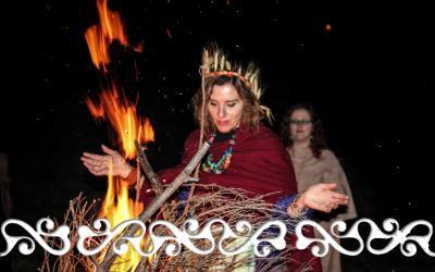 imbolc candelora okelum celti celts reenactment idromele danze guerrieri brigit briga saint brigit goddess