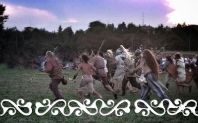 okelum mutina boica modena celti galli romani caupona battaglia