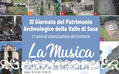 villa romana almese XI giornata patrimonio archeologico valle susa musica