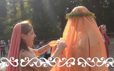 sposa romana matrimonio romano okelum almese rievocazione