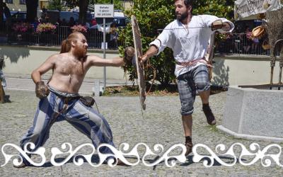 okelum elffest elf fest 2018 lanzo dervonnae dervonne celti combattimento guerrieri