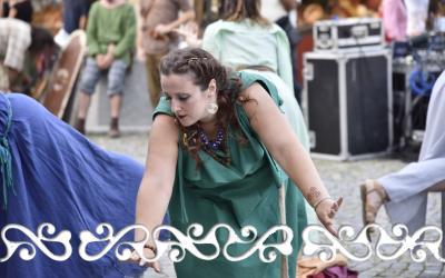 okelum elffest elf fest 2018 lanzo dervonnae dervonne celti danze historical dance