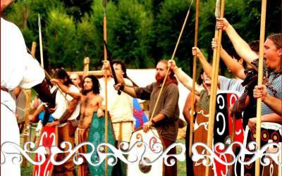roma boudicca aquila di roma okelum celti romani rievocazione reenactment warrior budicca