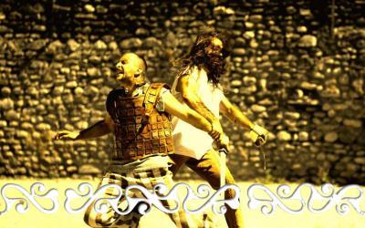 fighting combattimento combattimenti combattente scherma spada scudo battaglia guerriero celta