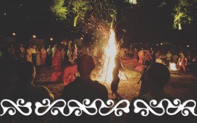 bundan bundancelticfestival fuoco fire dance ancientdance danzastorica okelum dervonne dervonnae hystoricaldance