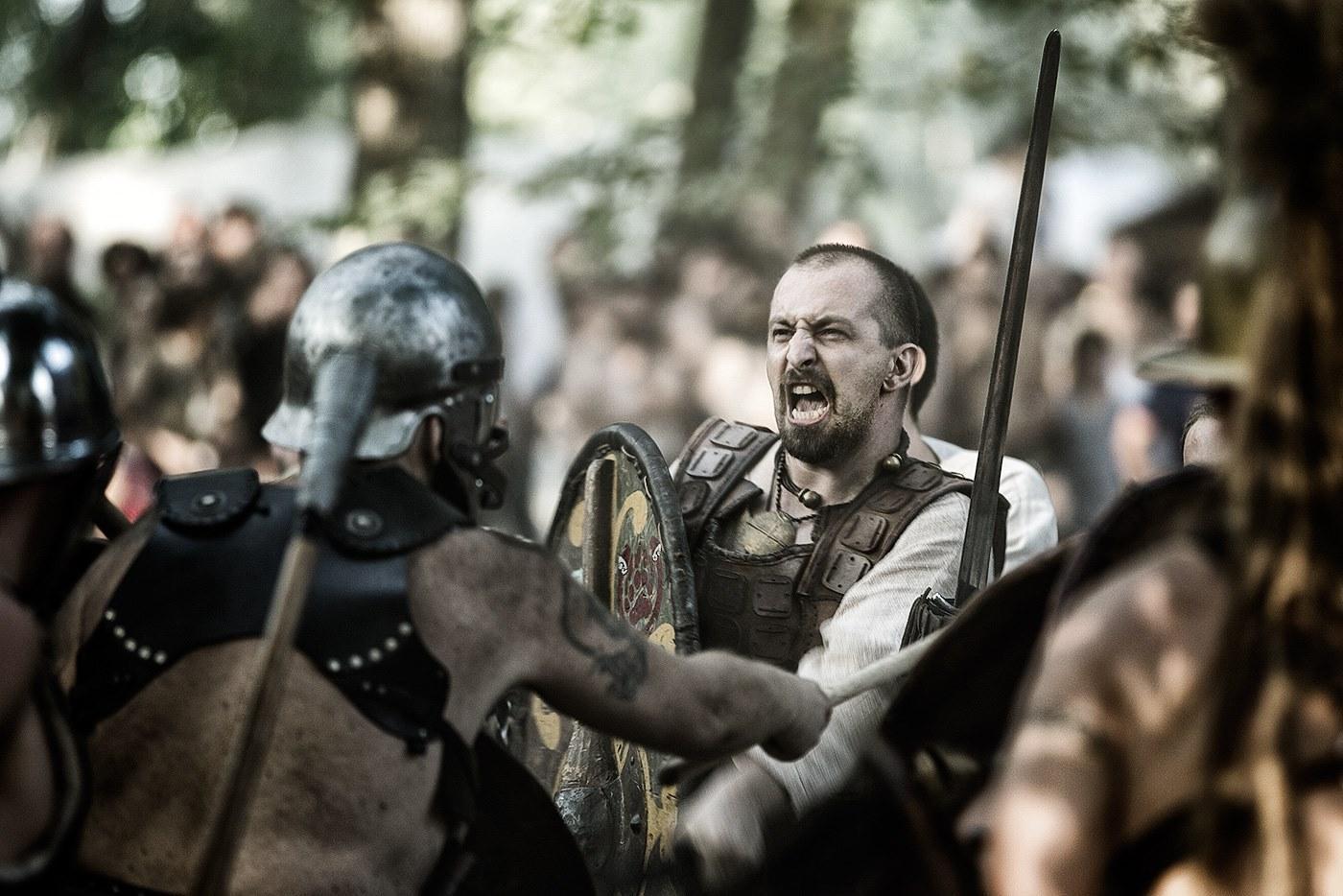 Bundan Battaglia guerriero celta celti spada